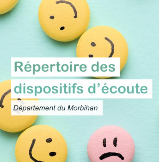 Répertoire des dispositifs d'écoute dans le Morbihan ARS